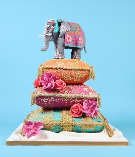 Novelty wedding cakes by Cakes by Robin