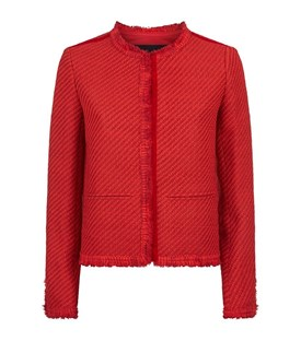 Valou Woven Tweed Jacket