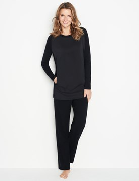 Silk Cashmere Wool Trousers